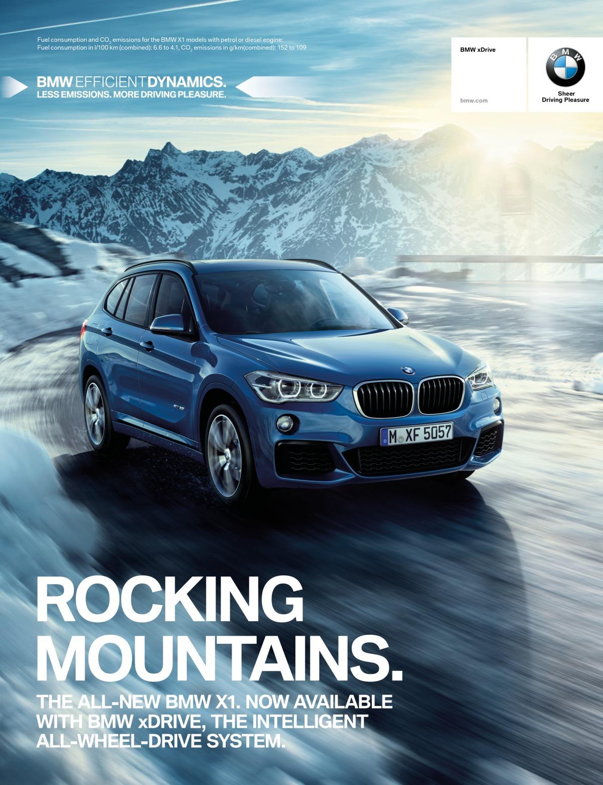 Imagekampagne BMWxDrive
