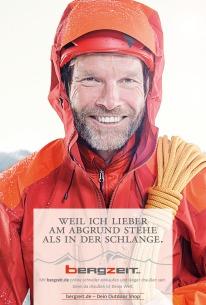 Anzeigenkampagne Bergzeit