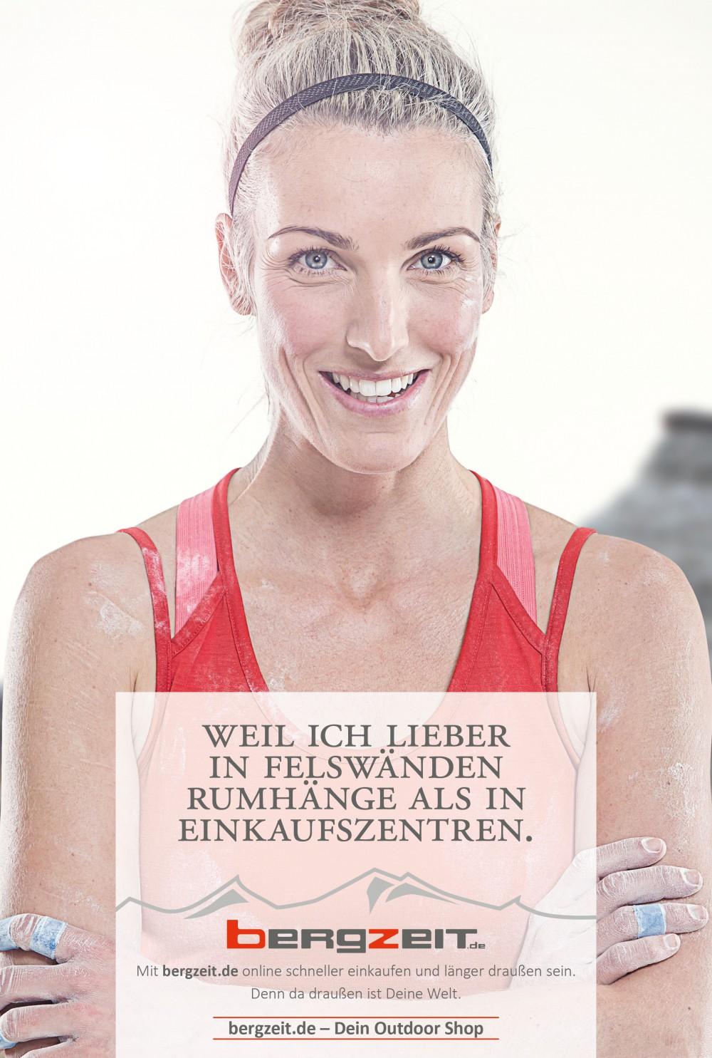 Plakatkampagne Bergzeit