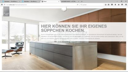 Webseitentexte Schreinerei