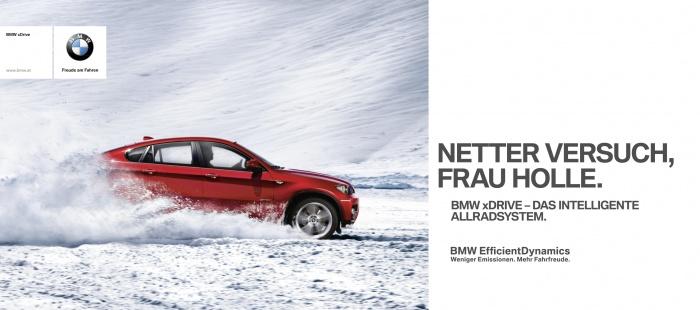 Anzeige BMW xDrive