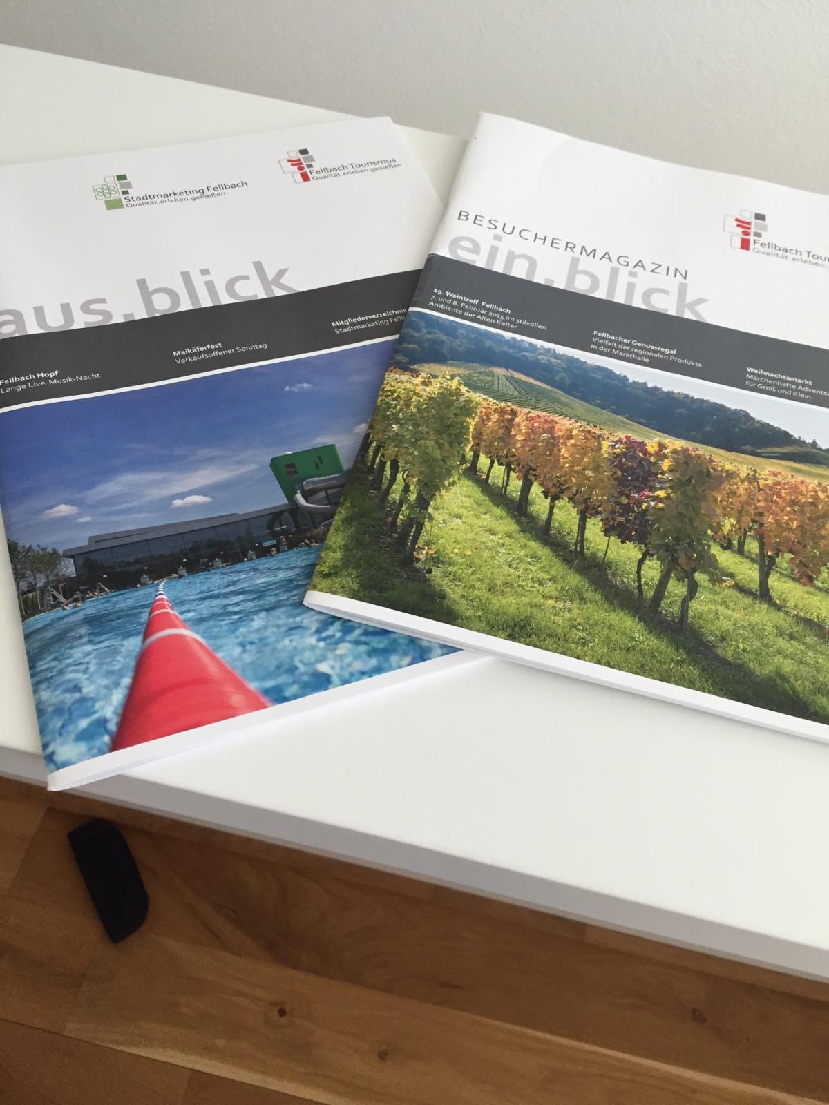 Besuchermagazine der StadtFellbach